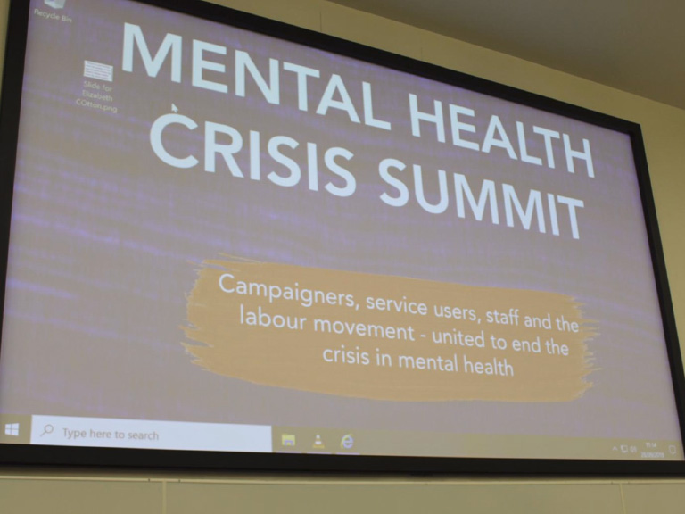 We have a mental health crisis, and its public services that are picking up the pieces