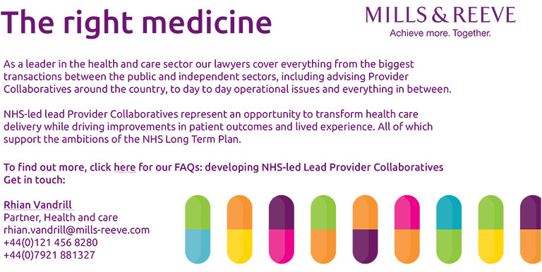 Developing provider collaboratives: working together