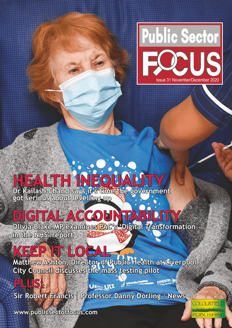 Public Sector Focus Digital Edition: November & December 2020