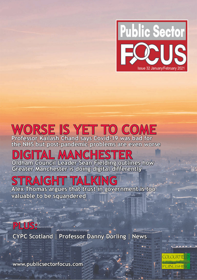 Public Sector Focus Magazine - January & February 2021