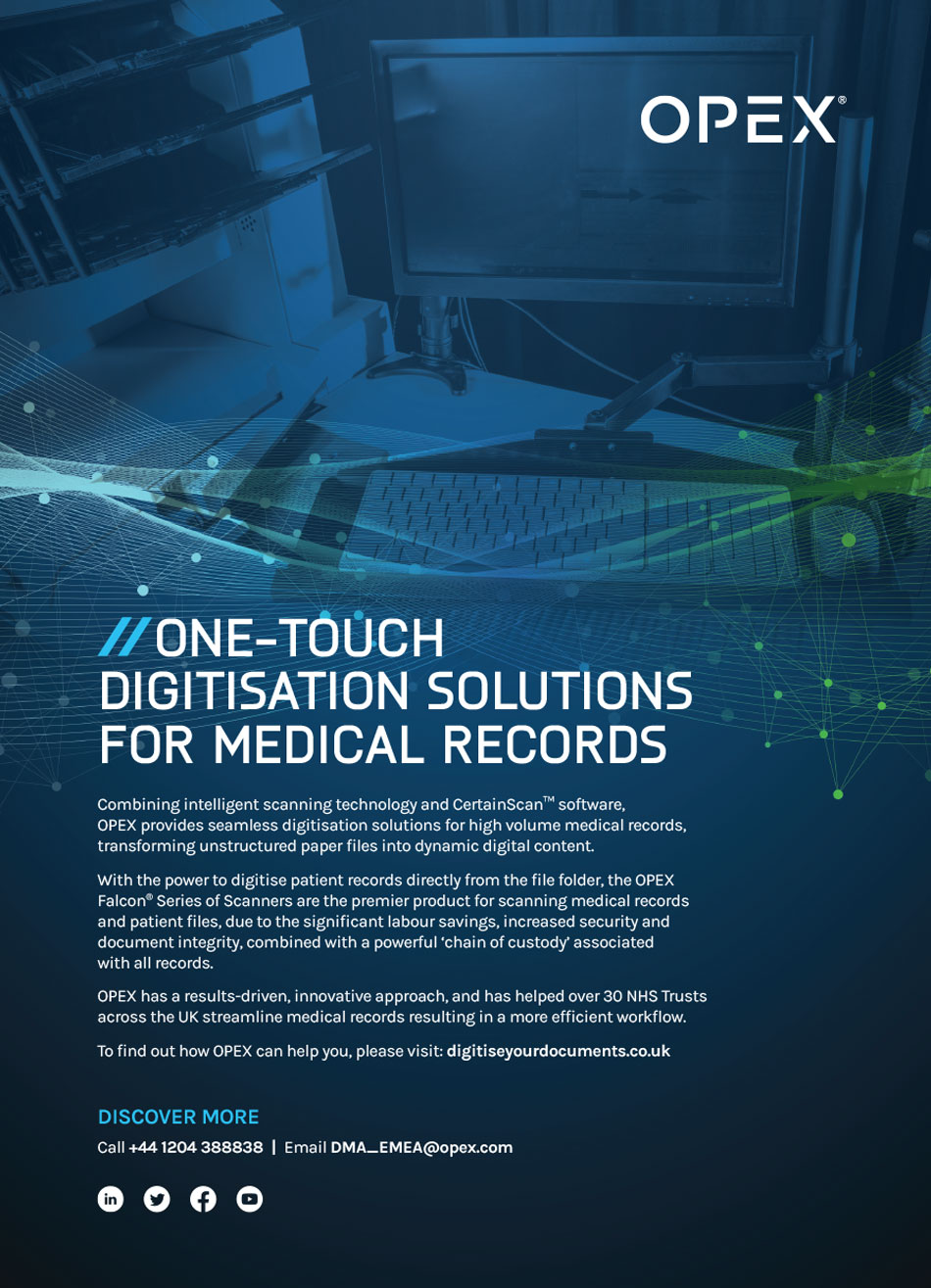 How OPEX is Providing Digitisation Solutions for the NHS