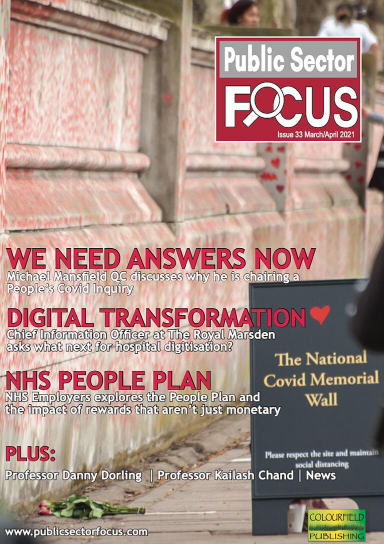 Public Sector Focus Digital Edition - March / April 2021
